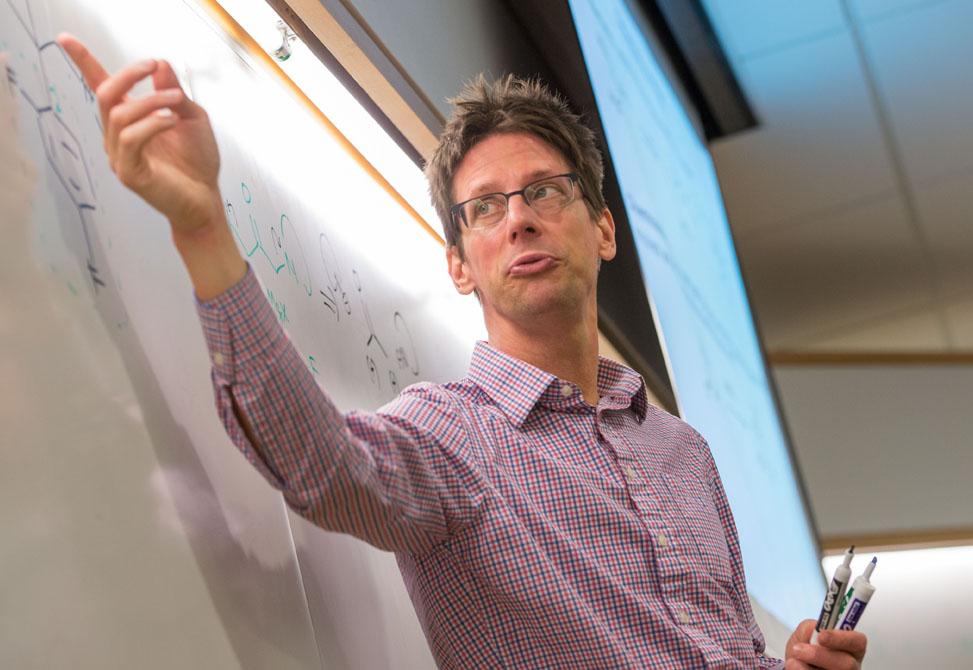 Professor and Department Chair, Jeff Johnson